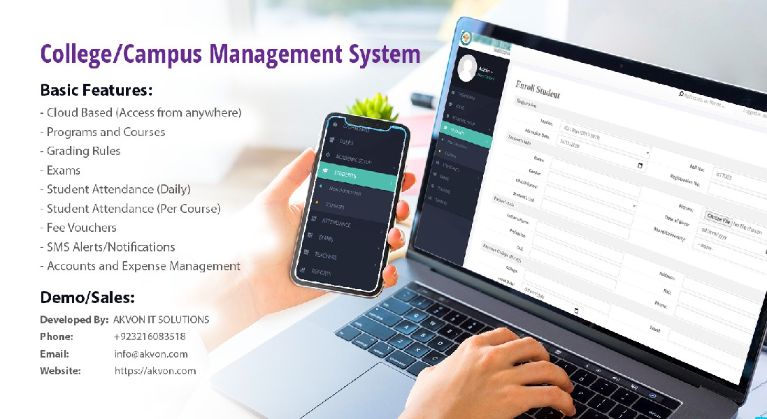 College Management Software with Accounts in Pakistan
