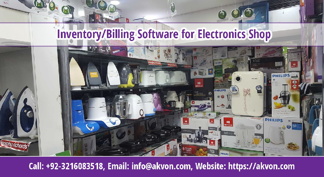 Electronics Distributor and Wholesale Shop Software